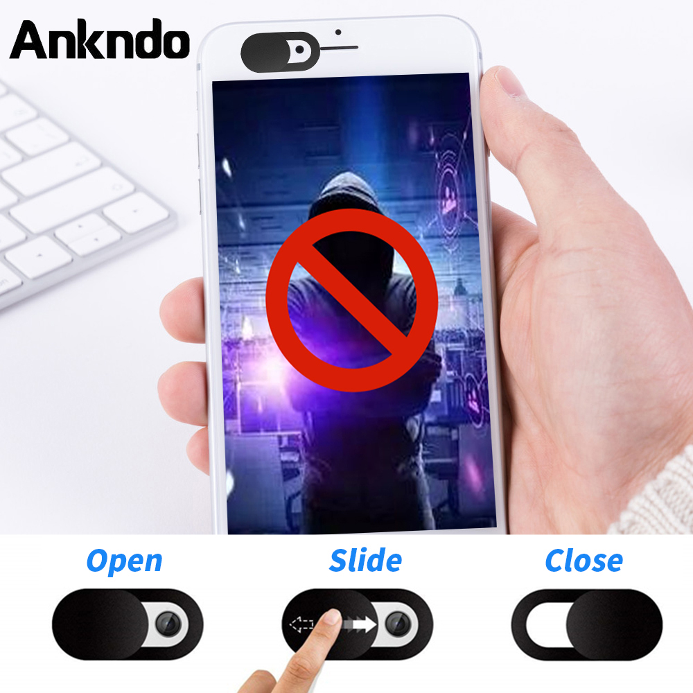 ANKNDO Webcam Cover Universal Phone Antispy Camera Cover For IPad Web Laptop PC Macbook Tablet Lenses Privacy Sticker For Xiaomi