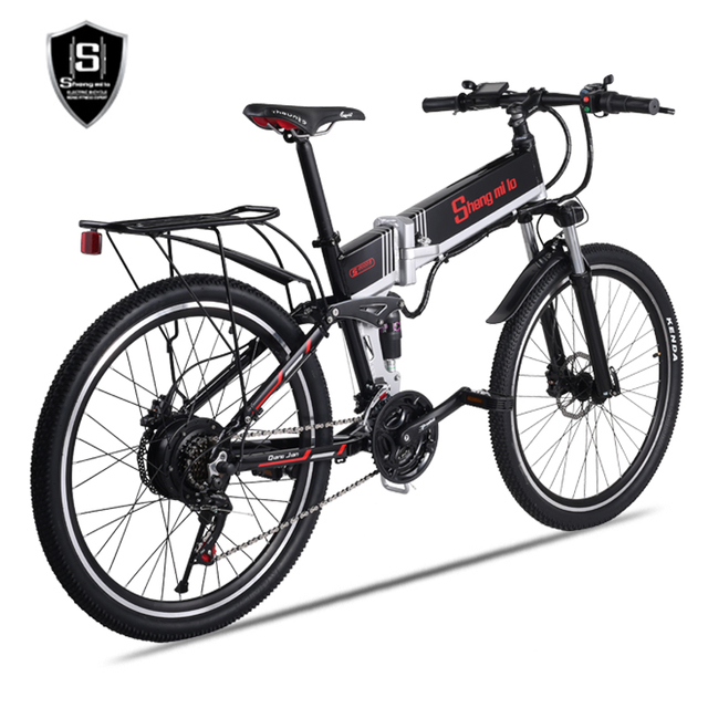 electric bike 21 speed 10ah 48 v, 500 w built-in lithium battery, ebike electric bicycle 26  1