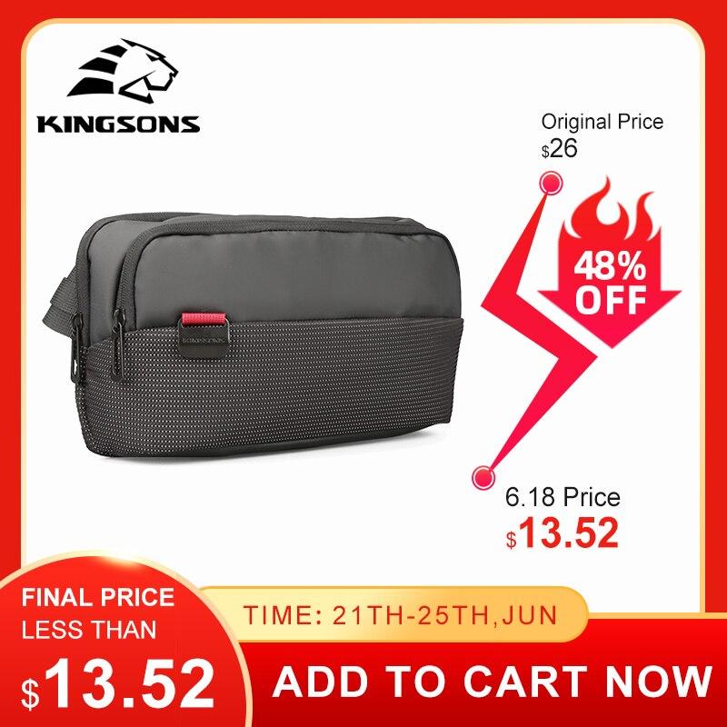 Kingsons Hot Shoulder Bags Crossbody Bags Anti Theft Chest Bag School Summer Short Trip Messengers Bag 2021 New Arrival