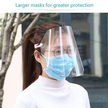 Transparent Anti-saliva Dust-proof Protect Full Face Covering Mask Visor Shield Protection Masks Available for adults and Child