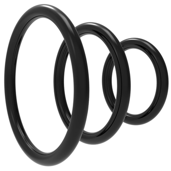 3pcs/set semen lock ring Silicone Durable Penis Ring Men Ejaculation Delay Cock Rubber Rings Sex Toys For Male Sex Rings exvoid bullet vibrator penis vibrating ring delay ejaculation adult sex toys for men male clitoris massager cock silicone rings