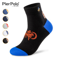 PIER POLO Men Socks Cotton Fall and Winter New Fashion Coloured male High quality Warm 2019 Mens Dress Gifts HOT