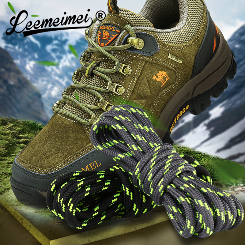1Pair Outdoor Shoelaces Sport Casual Shoes Lace Hiking Slip Rope Shoe Laces Boot Shoelace Strings Length 100cm 120cm 140cm 160cm