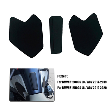 R1200GS R1250GS Side Tank pad Cover Sticker For BMW R 1200 GS LC Adventure R1250GS LC ADV GSA 2014-2020 Motorcycle Accessories image