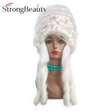 StrongBeauty Косплей Хэллоуин парик розовый/белый синтетические вьющиеся волосы женские парики