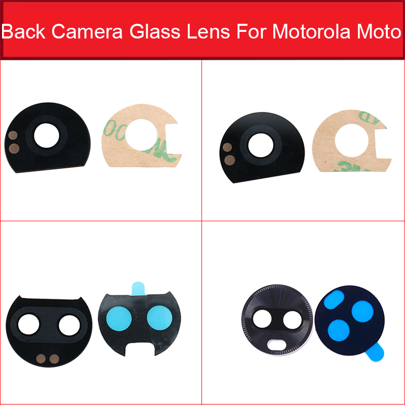 Rear Camera Glass Lens  For Moto Motorola Z PLAY Z2 FORCE PLAY Z3 Play Back Camera Glass Lens Cover With Adhensive Sticker