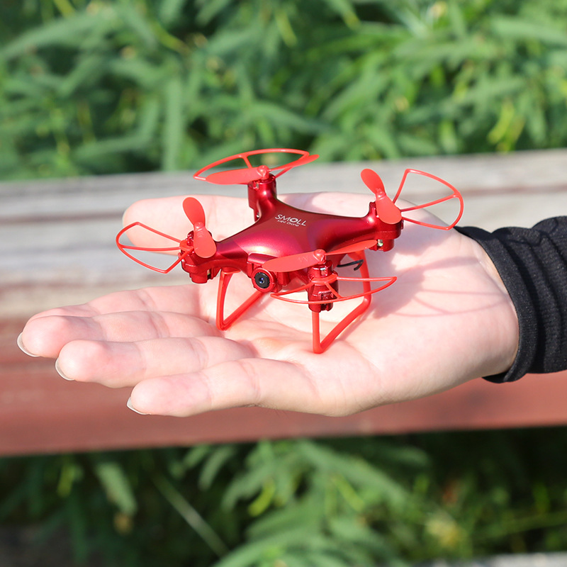 S13 Mini Unmanned Aerial Vehicle High-definition Aerial Photography Remote Control Toy Plane Pocket Quadcopter Drop-resistant