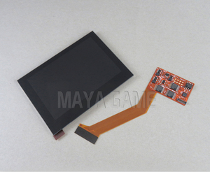 Image 5 - Replacement Highlight IPS LCD Screen for GBA SP Game Console Repair LCD Screen 5 level Brightness Adjustable High Quality