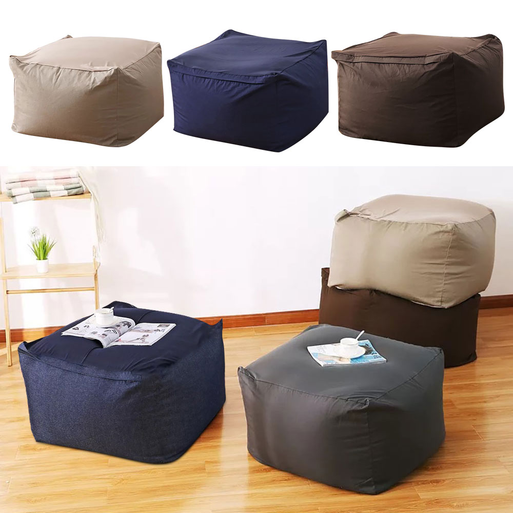 Outstanding Us 15 49 48 Off Lazy Bean Bag Sofas Cover Chairs Without Filler Linen Cloth Lounger Seat Pouf Puff Couch Tatami Living Room On Aliexpress Creativecarmelina Interior Chair Design Creativecarmelinacom