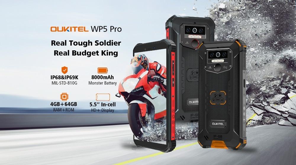 Смартфон OUKITEL WP5 Pro купить на AliExpress