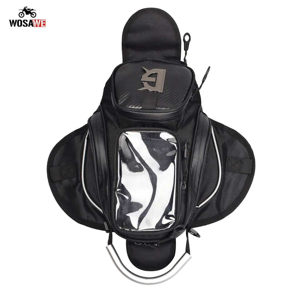 Image 4 - Motorcycle Magnetic Fuel Oil Tank Bag Mobile Phone GPS Navigation