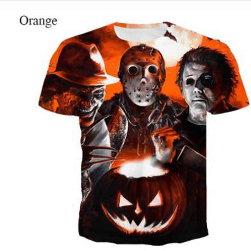 NUOVO Film Horror Si Pagliaccio Burlone 3D Stampa della Maglietta Degli Uomini/Donne Hip Hop Streetwear Tee T-Shirt 90s Ragazzi freddo Abbigliamento Uomo Top Horror