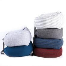U Shaped Travel Pillow Foam Particles Neck Health Care Flight Car Nap travel Waist Support