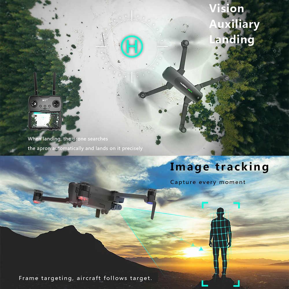 Hubsan H117s Zino Pro GPS 4km 5G 36 KM/H WiFi dron FPV z kamerą dla 4K UHD 3-osiowy Gimbal składane ramię zdalnie sterowany dron Quadcopter