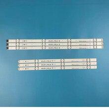 6 pçs/set tira retroiluminação LED para LG 43LF510V 43LF5100 43LH5100 43LH5700 43LH570A 43LH520V 43LH590 43LJ515V 43LH510V 43LH570V
