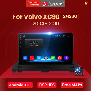 Junsun V1 4+64G Android 10.0 DSP For Volvo XC90 2004-2014 Car Radio Multimedia Video Player Navigation GPS 2 din No SWC Control