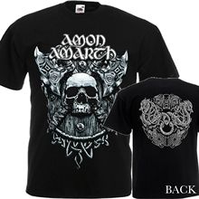 NEW T-SHIRT MELODIC DEATH METAL BAND AMON AMARTH DTG PRINTED TEE-S6XL