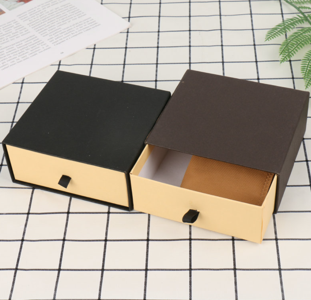 Details about  /4Pcs Gift Storage Box Rectangle Bow-knot Case Pendant Jewelry Packing Holder