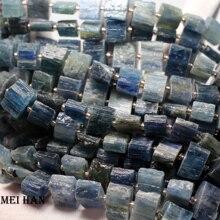 Meihan di Ghiaia naturale del Brasile cianite 9 16*8 9mm(33beads/strand) branelli allentati per il processo jewerly disegno o regalo