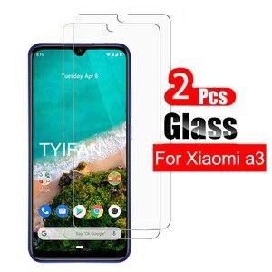 2 sztuk szkło hartowane dla Xiaomi Mi A3 szkło Screen Protector na Ksiomi My A3 A 3 3a Mia3 bezpieczeństwa Tremp folia ochronna na telefon Glas