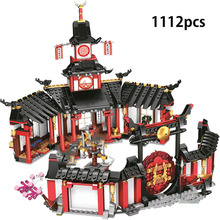 1112+pcs Ninja Monastery Spinjitzu Building Blocks Toys Comp