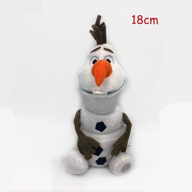 50 CM Frozen Snow Queen Elsa Stuffed Doll Princess Anna Elsa Doll Toys Elza Stuffed Plush Kids Toys Halloween Birthday Gift 6