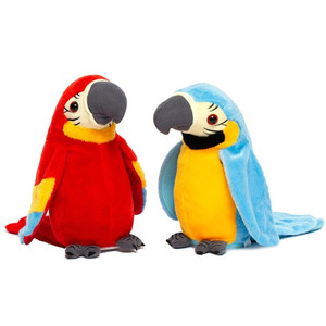 Talking Parrot Plush Toys With