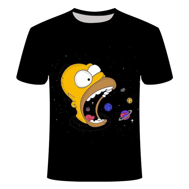 The Simpsons Camiseta Manga Corta para Chicos