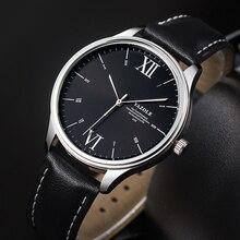 Men Simple Design Watch Leather Strap Waterproof 2020 men quartz watch Top Quality watch men quartz mens watches burst models men s quartz watch trend of the third needle waterproof leather strap