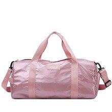 Waterproof Luggage Shoulder Crossbody Sports Travel Duffle Bag For Men Fitness Swim Bag Training Bag Women Gym Bags With Shoe