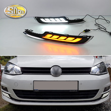 Unimaginable Price For VW Volkswagen Golf 7 VII MK7 LED DRL , Golf7 LED Daytime Running Light ,Free Shipping!!! bjmycyy free shipping car trunk handle metal light box for vw volkswagen golf mk7 2014
