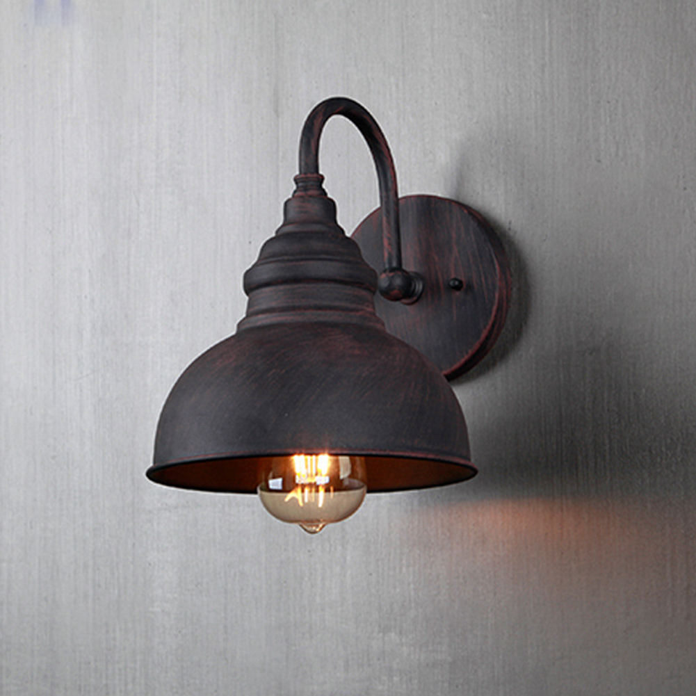 E27 Pathway Rustproof Decorative Wall Light European Corridor Industrial Style Balcony Stairs Outdoor Waterproof Easy Install|Outdoor Wall Lamps| |  - title=