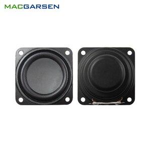 2 pçs 1.5 Polegada unidade de alto-falante gama completa 4 ohm 5w 40mm altifalante som para soundbox áudio usb caixa música computador alto-falantes pc