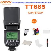 Godox TT685 TT685C TT685N TT685S TT685F TT685O Camera Flash Speedlite TTL HSS for Canon Nikon Sony Fuji Olympus DSLR Cameras
