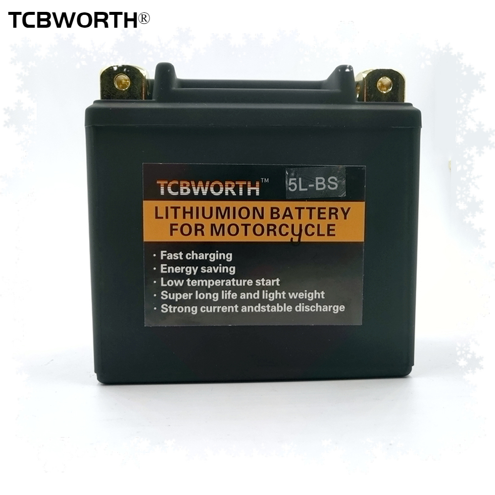 7L-BS 7AH 260A 5L-BS <font><b>5AH</b></font> 180A <font><b>12V</b></font> <font><b>Lithium</b></font> phosphate motorcycle <font><b>battery</b></font> Low temperature resistant motorcycle start <font><b>battery</b></font> <font><b>12V</b></font> image