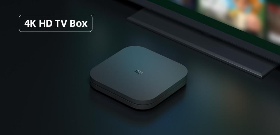 Mi Box S 4K Ultra HD TV Box