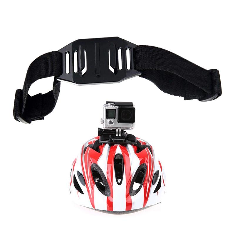 Вентилируемый шлем регулируемый ремень держатель для GoPro Hero 8 7 6 5 4 Session Yi 4K Sjcam Sj4000 Eken H9r Экшн-камера