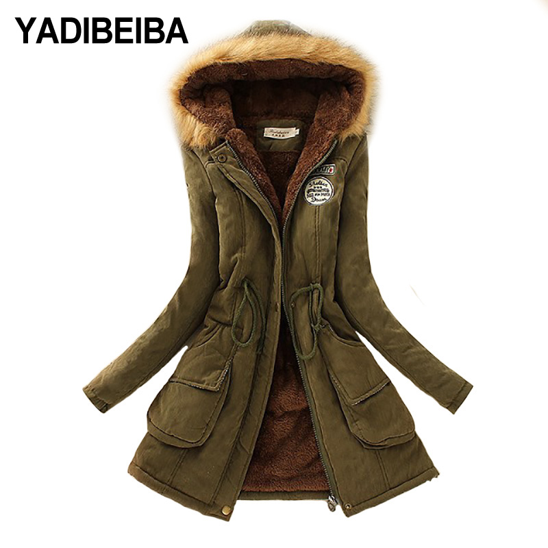 2019   Parka   Women Jacket Women Winter Coat Women Warm Hooded Women   Parka   Female Jacket Long Coat   Parkas   16 Colour Free Shipping