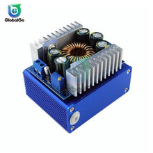 цена на High-power DC-DC Step-down Converter 12A Car Power Module with Aluminum Alloy Shell 5-40V to 1.2-36V Step Down Voltage Buck