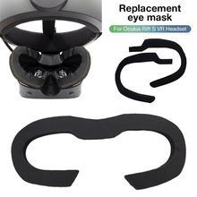 Replacement Eye Mask Foam Pad Comfortable Leather Sponge Sweatproof  Eye Mask for Oculus Rift S VR Headset цены