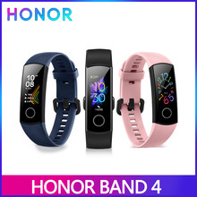 Huawei Honor Band 4 Versi Global Smart Band Gelang AMOLED Tahan Air Sentuh Layar Tidur Kebugaran Tracker Denyut Jantung(China)