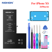 Nohon Original Battery for Apple iPhone XS Battery for iPhone X XR XS Max Replacement Bateria Real Capacity iPhoneX Batarya