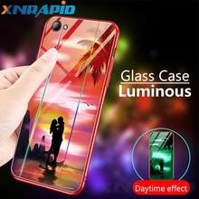 Luminous Case For iphone X XS XR max 6 6S 7 8 Plus Cases Night Shine Aurora Gradient Luxury Cover