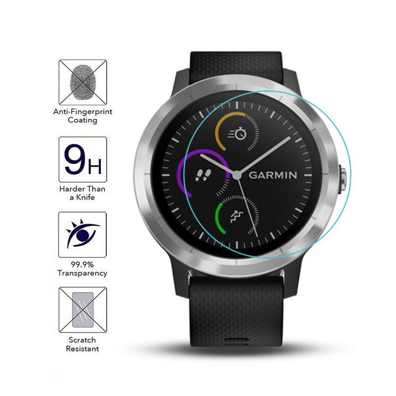 Smart Watch Film For Garmin Vivoactive 3 Series Sport Wristband Bracelet Cover Case 9H Hard Tempered Glass Screen Protector