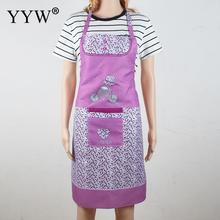 Kitchen Apron For Hairdresser Aprons For Woman Cooking Apron Waterproof Cotton Apron Antifouling Kitchen Accessories Apron