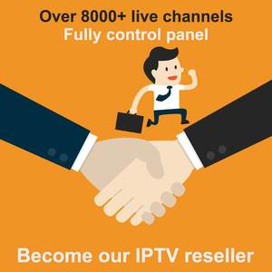 World-Iptv-Control-Panel Iptv Reseller VOD Nordic Europe Iptv Contains with Credits 8000/Live-10000/Vod