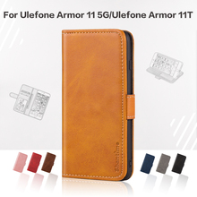 Flip Cover For Ulefone Armor 11 5G Business Case Leather Luxury With Magnet Wallet Case For Ulefone Armor 11T Phone Cover
