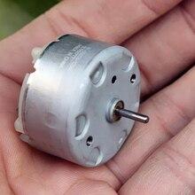 Mabuchi Micro RF-500TB-12560 Motor DC 6V-12V 9V 5500RPM Precious Metal Brush Long Shaft Round Motor 32MM DIY Humidifier Alarm