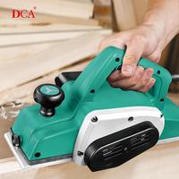 DCA Electric Wood Planers Variable Speed 220v 840w Electric Hand Planer for Woodworking Power Tools with Accessories