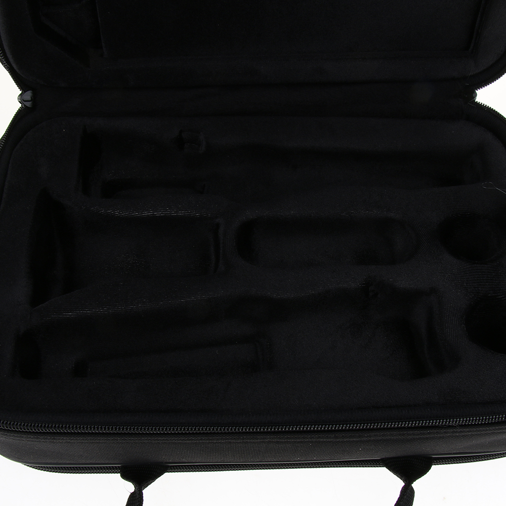 Soft Foam Padded Clarinet Case Canvas For Bb Soprano Clarinet Accessories